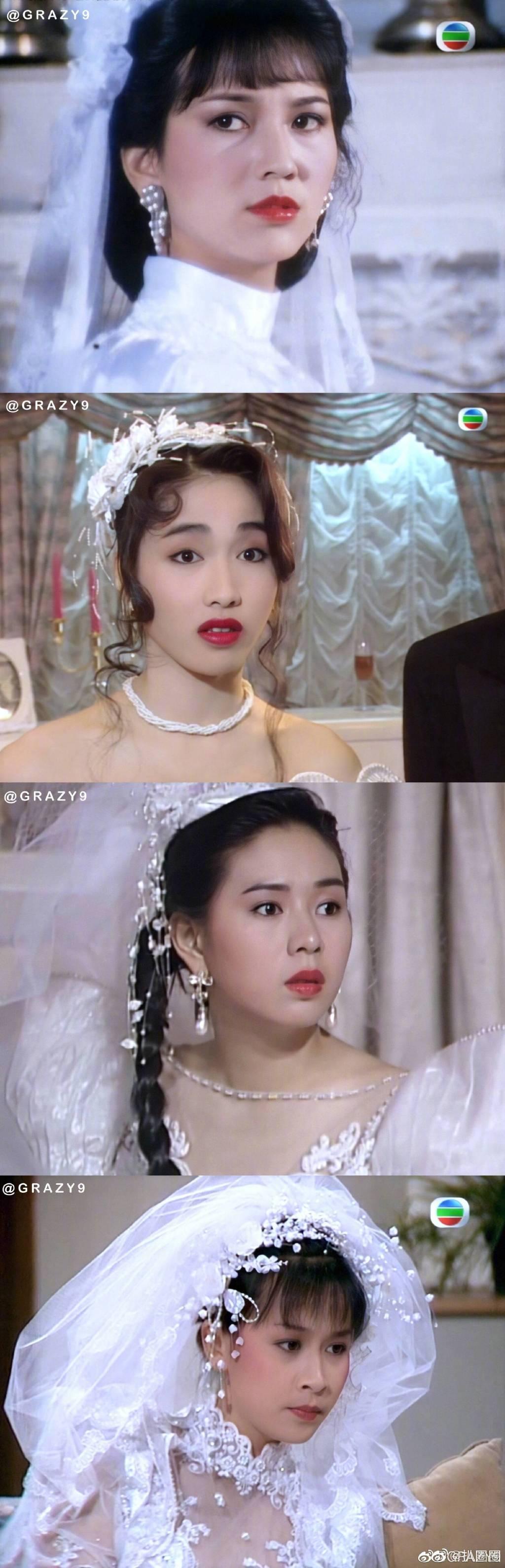 林青霞、王祖贤、关之琳…最全港风明星婚纱照合集来袭