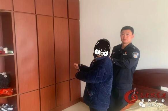 高密警方成功破获一起技术性开锁入室盗窃案